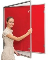 Spaceright Sunsafe Tamperproof Noticeboard - Single Door 600 x 900mm