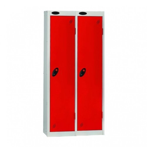 Probe Low Nest of Two Steel Locker - 1210 x 305 x 460mm