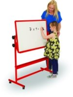 Spaceright Little Rainbows Mobile Magnetic Tilt 'N' Teach Double-Sided White Board