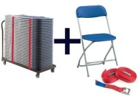 Principal 2200 Folding Chair and Trolley Package