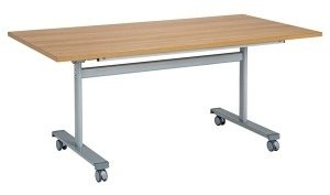 Gyrate Flip Top Rectangular Table 1200 x 720 x 800mm