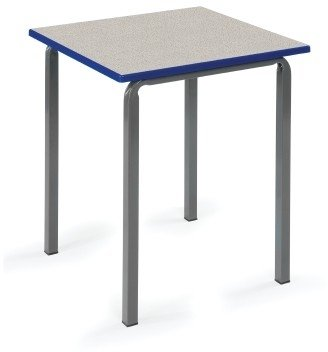 Metalliform Reliance School Classroom Square Table - 600mm