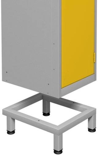 Probe Zenbox Single Compartment Locker Support Stand - 150 x 300 x 400mm