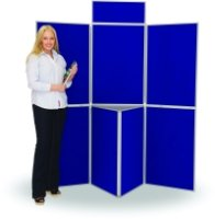 Spaceright 7 Panel Fold-Up Display Screens