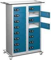 Probe TabBox 16 Compartment Trolley - 1050 x 800 x 305mm