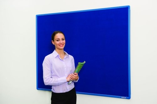 Spaceright Colour Co-ordinated Decorative Noticeboard - 1200 x 900mm