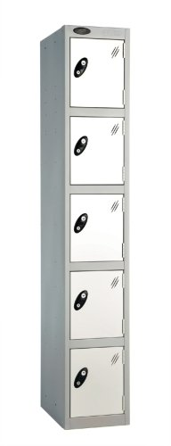 Probe 5 Door Single Steel Locker - 1780 x 305 x 460mm