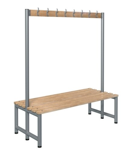 Probe Cloakroom Double Sided Hook Bench 1500 x 720mm