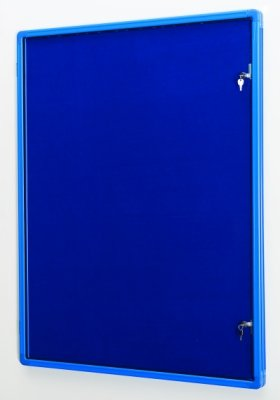 Colour Co-ordinated Decorative Tamperproof Noticeboards 1200 x 1200mm