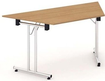Gentoo Folding Trapezium Table 1600 x 800mm