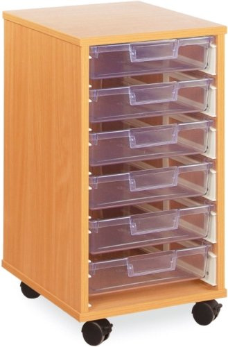 Monarch 6 Clear Shallow Tray Unit