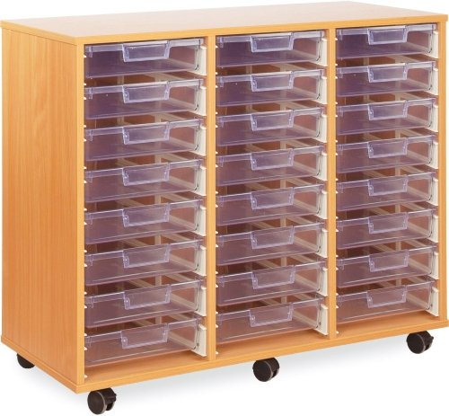 Monarch 24 Clear Shallow Tray Unit
