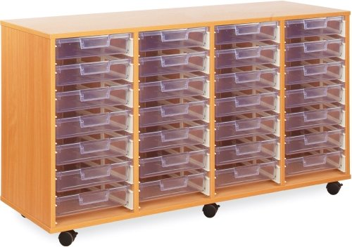 Monarch 28 Clear Shallow Tray Unit
