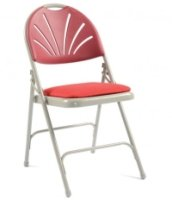 Principal 2600 Comfort Back Folding Chair With Upholstered Seat Pack of 4