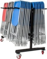 ZLITE 60 Fan Back Folding Chair and Trolley Bundle