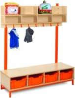 Cloakroom Top with 8 Compartments
