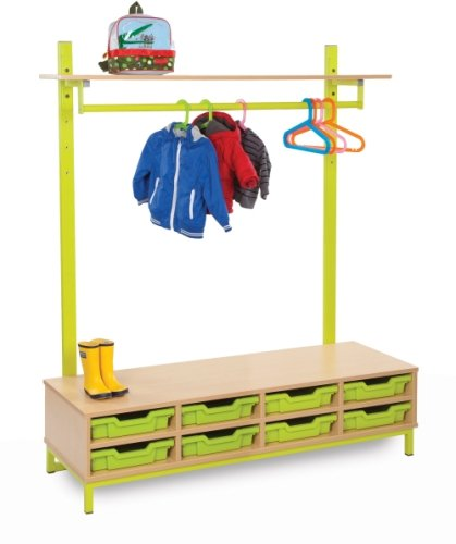 Cloakroom Top with Shelf and Hanging Rail