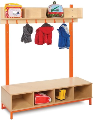 Cloakroom Top with 4 Open Compartments
