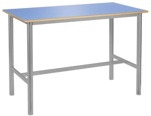 Metalliform Premium Frame Rectangular Craft Table 1200 X 600mm MDF