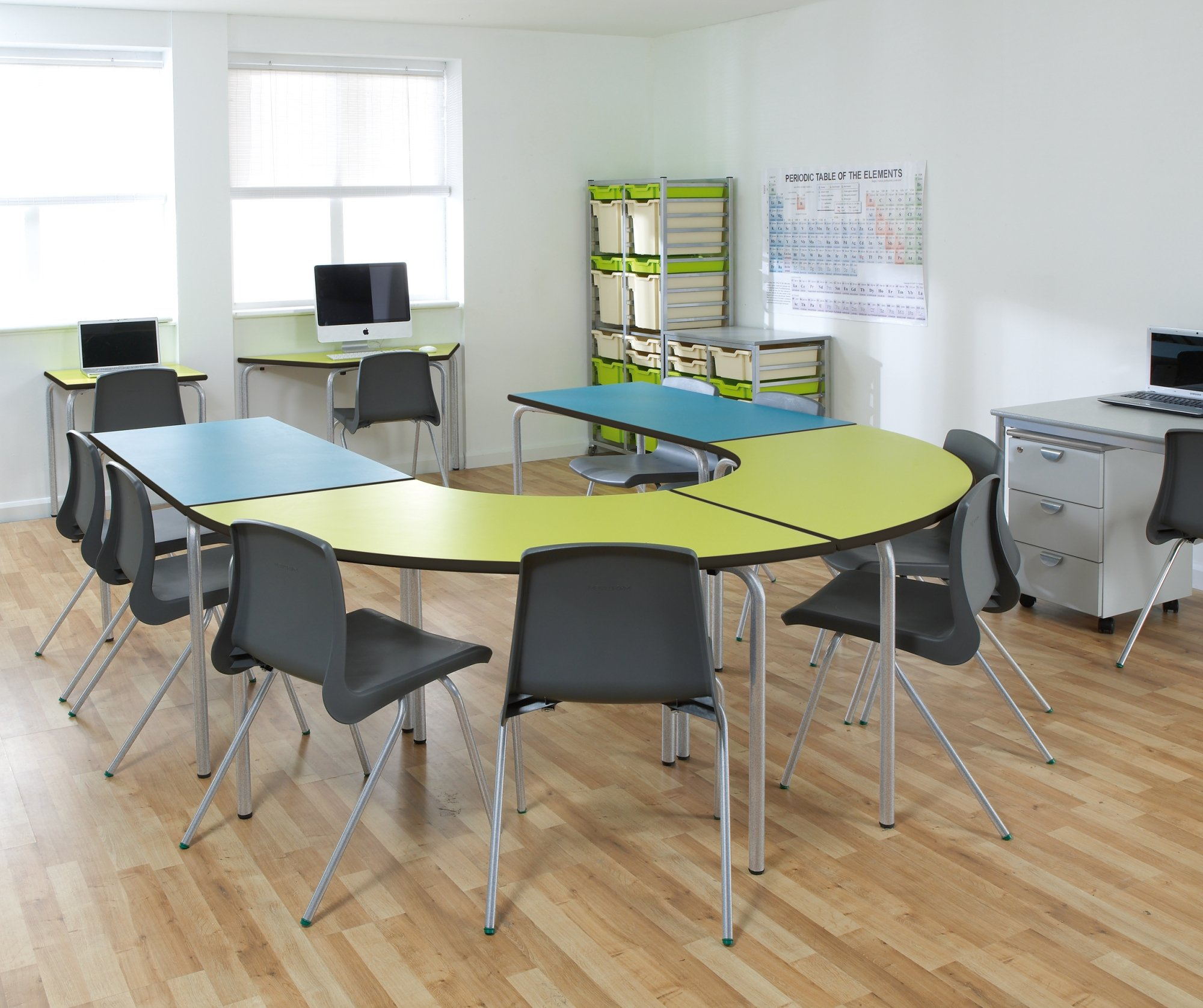 group table classroom grey product innova classic mitylite leg conference tables