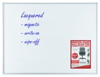 Gentoo Premiumline Magnetic Whiteboard - 1800mm x 1200mm