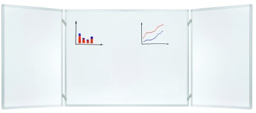 Gentoo Premiumline Folding Magnetic Whiteboard - 900mm x 600mm