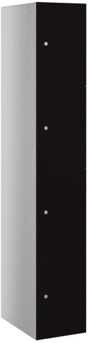 Probe BuzzBox Four Compartment Satin Effect Locker - 1780 x 305 x 470mm