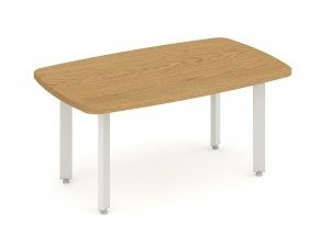 Gentoo Coffee Table with Metal Legs 1200 x 600mm