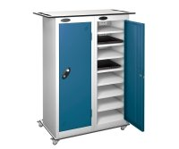 Probe LapBox 16 Compartment Charge and Store Locker with Trolley
