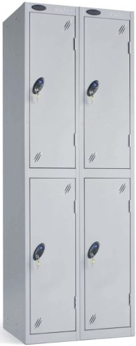Probe Two Door Nest of 2 Steel Lockers - 1780 x 610 x 305mm