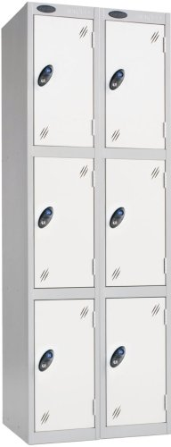 Probe Three Door Nest of 2 Steel Lockers - 1780 x 610 x 460mm