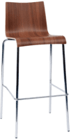 ORN Michigan Wood Finish Bistro Stool