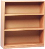 Open Bookcase With 2 Adjustable Shelves Height 1000mm