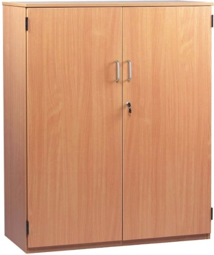 Monarch Stock Cupboard With 1 Fixed and 2 Adjustable Shelves