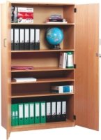 Monarch Stock Cupboard With 1 Fixed and 4 Adjustable Shelves