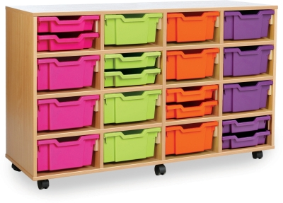 Classic Tray Storage Unit 8 Shallow and 12 Deep Trays