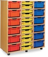 Monarch Classic Tray Storage Unit 24 Shallow and 12 Deep Trays