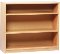 Monarch Open Bookcase With 2 Adjustable Shelves Height 750mm