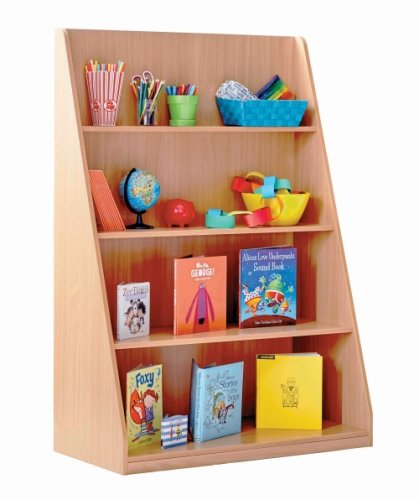 Monarch Library Unit With 4 Fixed Straight Shelves