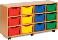 12 Cubby Tray Unit