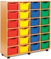 Monarch 24 Cubby Tray Unit