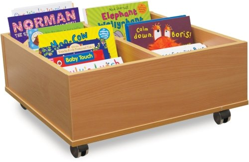 4 Bay Kinderbox With Castors