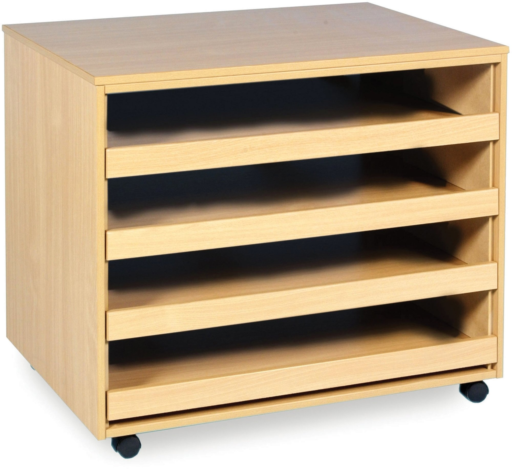 Art Storage 4 Sliding Drawer A1 Paper Storage Unit