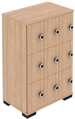 Elite Nine Lockers Personal Storage Unit - Digital Lock