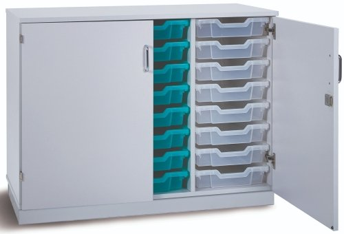 Monarch Premium Static 24 Shallow Tray Unit with Doors
