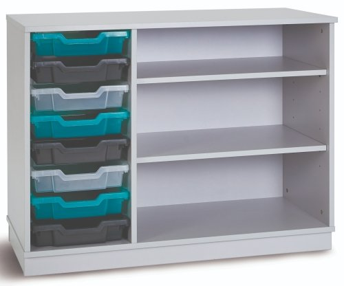 Monarch Premium Static 8 Shallow Tray Unit with 2 Shelf Compartment