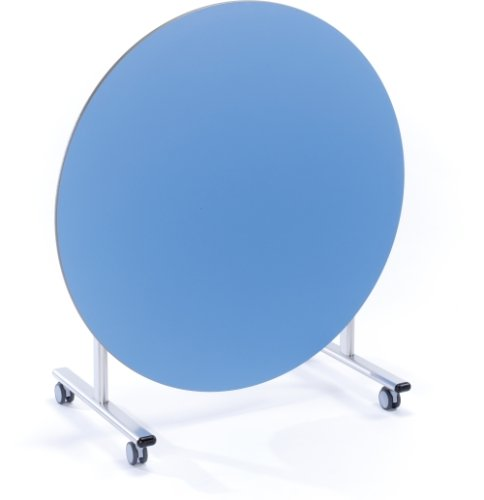 Metalliform Circular Premium Tilt Top Table - 1200mm