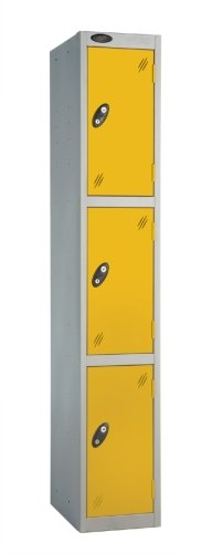 Probe Three Door Single Steel Locker - 1780 x 460 x 460mm