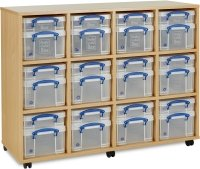 Monarch 12 x 4L/ 12 x 9L Really Useful Box Storage Unit