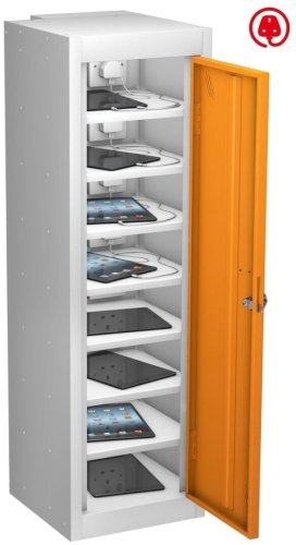 Probe TabBox Single Door 8 Compartment Locker With Standard Plug - 1000 x 305 x 370mm